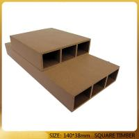 Cheap preservative and soft wpc wood plastic composite easy installed for sale