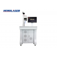 Cheap Water Cooling ISO Approve Portable Laser Marker , 50W Laser Engraving Machine for sale