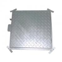 Cheap Class A15 Galvanized Manhole Cover Hot Dip Galvanized Septic Tank Cover for sale