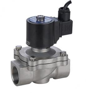 China SS304 Underwater Fountain Solenoid Valve , 32mm Solenoid Valve 24VDC on sale