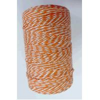Orange portable electric fence poly wire 2mm diameter economic for farm QL719