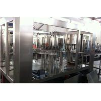Pulp / Granule Juice Food Filling Machine 3 In 1 Juice Bottling Equipment