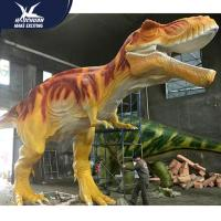 Vivid Life Size Professional Realistic Dinosaur Models For Museum Exhibits for sale