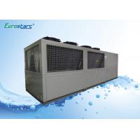 SCM / PLC Electronic Industry Air Cooled Scroll Chiller Hanbell Screw Compressor