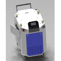 Cheap Durable No Damage 500W 1064nm Laser Derusting Machine IPG No Pollution for sale