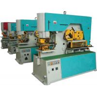 Cheap Punching Hydraulic Ironworker Machine , 250t Industry Die Cutting Press for sale