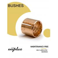 Buy cheap Flanged Bronze Bushings Cusn8 DIN1494 / ISO 3547 Lubrication 090 Diamond Pockets from wholesalers
