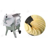 Cheap Corrugated Cucumber And Potato Slicer Machine Crinkle Chips  Easy Change Blade Henan GELGOOG for sale