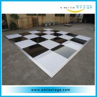 Cheap Portable light up wooden dance floor for night club for sale