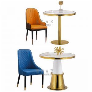 Cheap High Back Nordic Design Metal Leg Modern Dining Chair for sale