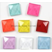 Cheap square flourecent rhinestones strass for crafts/mobile phone/greeting cards for sale