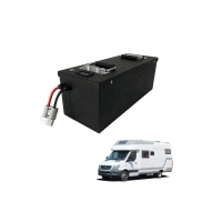 Cheap Prismatic 5120Wh 24V 200Ah RV Lifepo4 Car Battery for sale