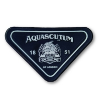 Cheap 3mm Thick 3D Debossed Name Logo TPU Badges Patches Labels for Bags for sale