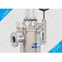 Cheap Low Cost Industrial Inline Water Filter For Soap , High Performance Raw Water Filter for sale