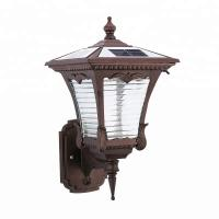Buy cheap Wall Mounted Solar Powered LED Outdoor Lights With Aluminium Frame from wholesalers