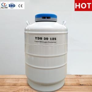 Cheap Tianchi Liquid nitrogen biological container 30L125mm Liquid nitrogen tank YDS-30-125 Cryogenic vessel 30L for sale