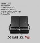 High power modular design 300W-1000W LED flood light with 120-160lm/W