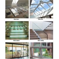 China PVB Film Polycarbonate Laminated Glass / Glass Laminated Windows Soundproofing on sale