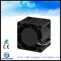 19000rpm Ball Bearing 12v DC Axial Fans CPU Cooling Fan 28mm Thick