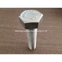 Customized Length High Tensile Steel Bolts For Steel Roof Constructions
