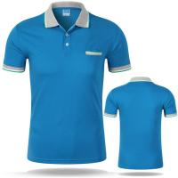 Cheap Men Polo t-shirt Custom LOGO 100% cotton for sale
