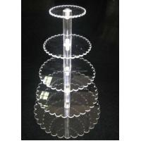 Cheap Modern Plastic 5-Tier Cake Stand (FD-A-0138) for sale