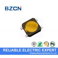 Quality Yellow Firm Mini Tactile Push Button Switch Water Resistance For Computer wholesale