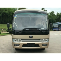 Cheap 3100mm Wheelbase 90kw 19 Seats 2017 Year Used Coaster Bus for sale