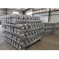 Cheap 2m Width Hot Dipped Galvanized 1x1 Welded Wire Mesh for sale