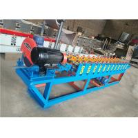 Quality Slats Profile Rolling Shutter Strip Making Machine / Forming Machine Fly Saw wholesale