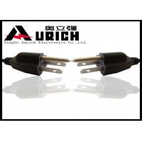 Cheap American Standard Three Prong AC UL Power Cord 125V 16AWG / 18AWG for sale
