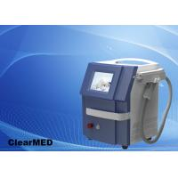 Cheap Double Rod Nd Yag laser machine for tattoo removal 1-6Hz Pulse Repetition Rate for sale