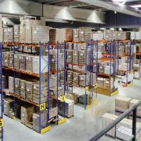 Buy cheap Commercial Heavy Duty Pallet Racks With Powder Coated Finish For Warehouse from wholesalers