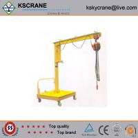 Cheap High Performance 500kg Lifting Movable Jib Crane For Sale for sale