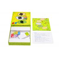 Cheap Strategy Childrens Board Games Paper Insert With Printed Wooden Pieces BV SGS Certify for sale