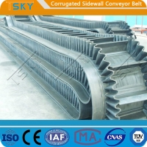 Cheap B800 Corrugated Sidewall Rubber Conveyor Belt for sale