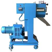 Cheap Low Noise Plastic Pellet Extruder Machine / Granulation Equipments For Waste Filament Cutting System for sale