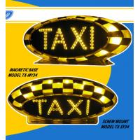 Cheap full magent prifessional sample fast Taxi roof light top signs leds for sale