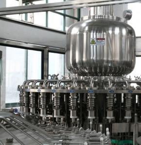 Cheap 1000BPH - 22000BPH Tea Filling Machine Stainless Steel For Hot Water Filling for sale
