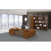 Cheap 200cm Brown Office Desk With Storage , Modern Office Desk Return Extension Type for sale