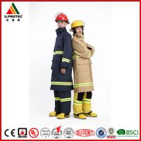Cheap Hi Vis Reflective Safety Flame Resistant Firefighter Uniform for Men's and Women for sale