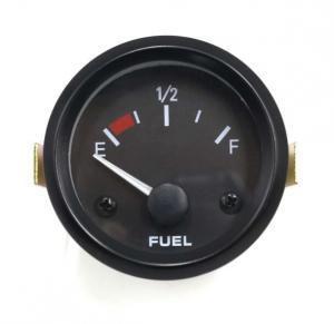Cheap 12V 2 inch 52mm Universal Car Fuel Level Gauge Meter With E-1-2-F Fuel Sensor Car Gauge for sale