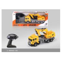 Cheap 27 MHz Frequency Mini RC Remote Control Excavator Toy For Kids Role Play for sale