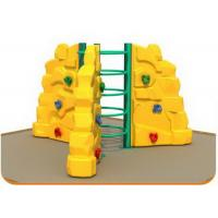 Cheap Kindergarten Kids Plastic Climbing Wall Outdoor Use Long Service Life for sale