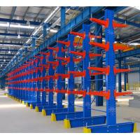 Cheap Powder Coated Double Side Cantilever Storage Rack Customized For Warehouse for sale