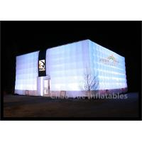 Cheap LED Inflatable Cube Tent for outdoor event for sale