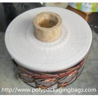 Cheap Moisture Proof Biscuit / Sugar Printed Plastic Film Rolls Laminated Food Packaging for sale