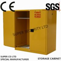 Hazardous Flammable Liquid Storage Cabinet in labs, minel, stock, chemical