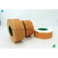 Cheap Striaght Edge Paper 3000m Yellow Cork Tipping Paper for sale