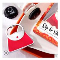 Cheap New creative gift product wedding gift red bag bottle opener for sale